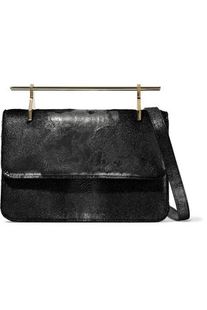 M2MALLETIER La Fleur Du Mal calf hair clutch