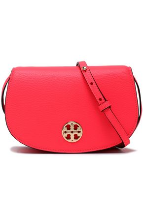 Embellished Leather Shoulder Bag by Tory Burch