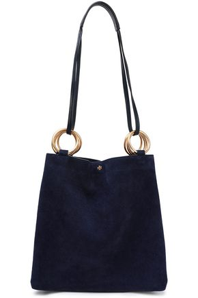 TORY BURCH Suede shoulder bag