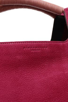 SIMON MILLER Birch leather-trimmed nubuck tote