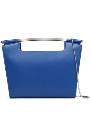 DELPOZO Gret leather clutch