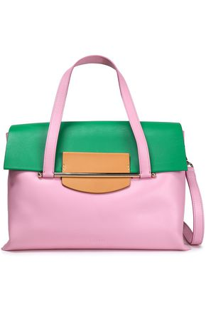 DELPOZO Leather shoulder bag