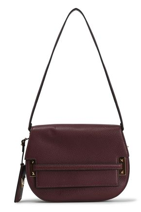 VALENTINO GARAVANI Textured-leather shoulder bag