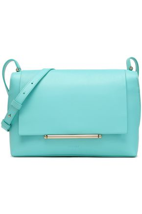 DELPOZO Bo two-tone leather shoulder bag