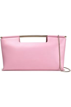 DELPOZO Concept leather clutch