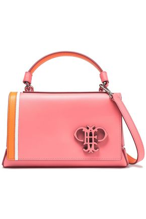 EMILIO PUCCI Color-block leather tote