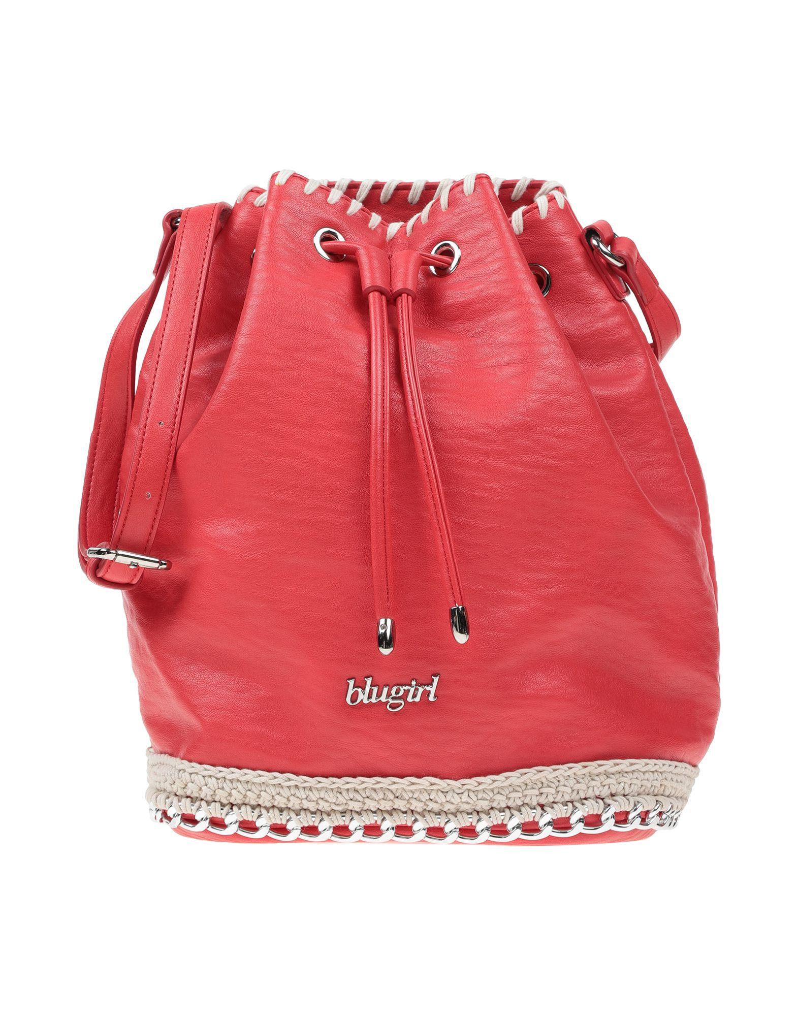 BLUGIRL BLUMARINE Сумка через плечо [супермаркет] landcase jingdong люди деловой сумки случайной сумка плечо сумка прилив мешок коричневого холст мешок 902