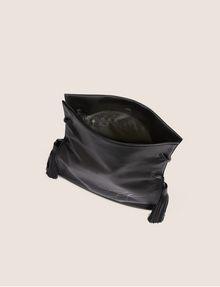 ARMANI EXCHANGE DOUBLE TASSEL SCRIPT TOTE Satchel bag [*** pickupInStoreShipping_info ***] e