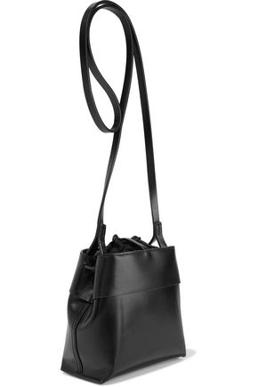 a6a7149307a4 KARA Nano Tie glossed-leather shoulder bag