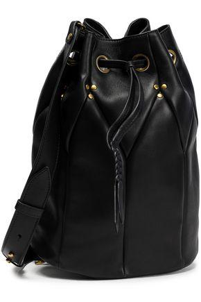JÉRÔME DREYFUSS Popeye stud-embellished suede bucket bag
