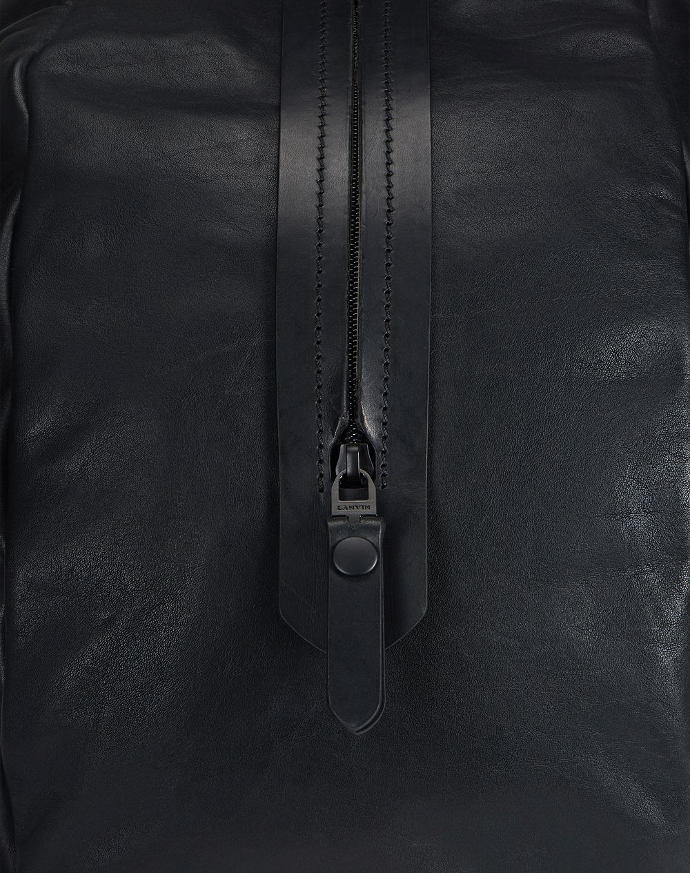 SMOOTH CALFSKIN BOWLING BAG - Lanvin