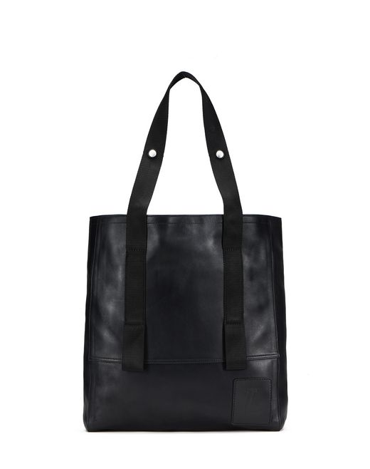 CALFSKIN LEATHER TOTE BAG - Lanvin