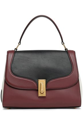 MARC JACOBS Color-block leather tote