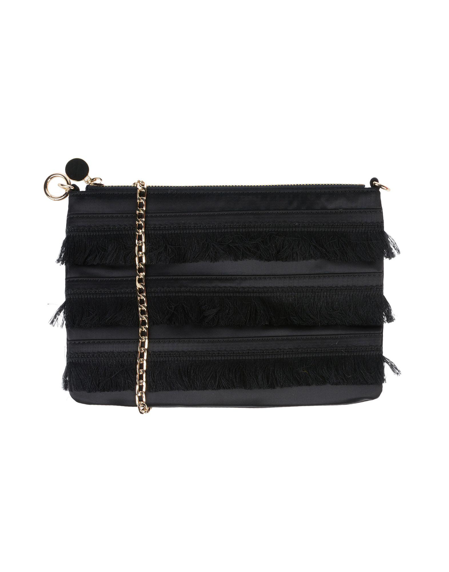 《送料無料》PENNYBLACK レディース メッセンジャーバッグ ブラック 紡績繊維