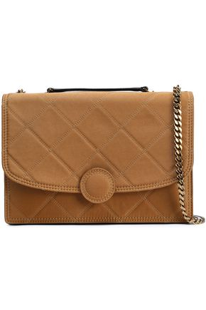MARC JACOBS Quilted twill shoulder bag