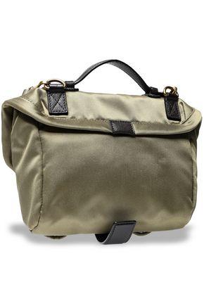 MARC JACOBS Embellished twill shoulder bag