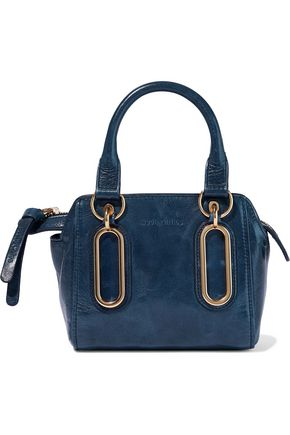 SEE BY CHLOÉ Paige mini brushed-leather shoulder bag