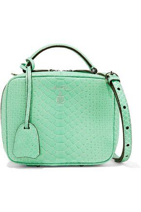 MARK CROSS Baby Laura python shoulder bag