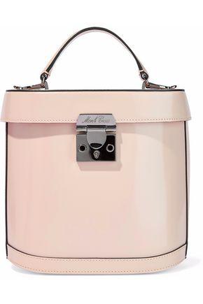MARK CROSS Benchley glossed-leather shoulder bag