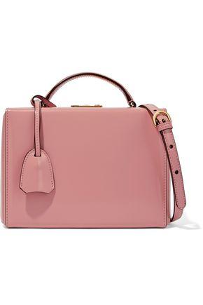 MARK CROSS Grace glossed-leather shoulder bag