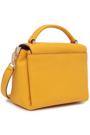 KATE SPADE New York Madeline Devoe Street embellished textured-leather shoulder bag