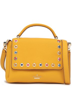 KATE SPADE New York Madeline Devoe Street レザー ショルダーバッグ