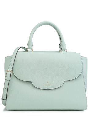 KATE SPADE New York Makayla Leewood Place textured-leather shoulder bag