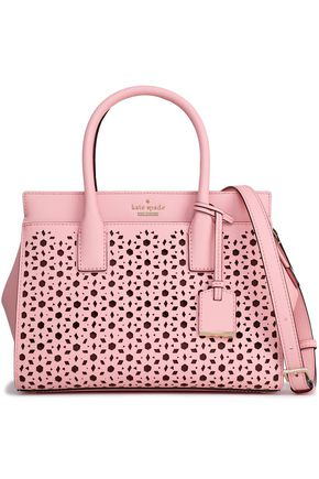 df15ca043430 KATE SPADE New York Cameron Street Candace laser-cut leather shoulder bag  ...