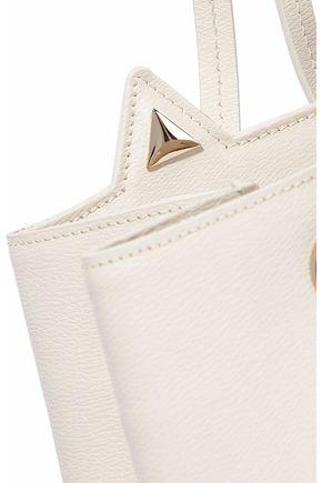CHARLOTTE OLYMPIA Feline appliquéd leather bucket bag