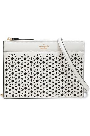 KATE SPADE New York Cameron St laser-cut leather shoulder bag