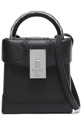 THE VOLON Alice embellished leather shoulder bag
