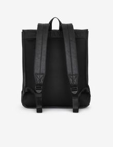 ARMANI EXCHANGE PEBBLED BUCKLE BACKPACK Backpack [*** pickupInStoreShippingNotGuaranteed_info ***] d
