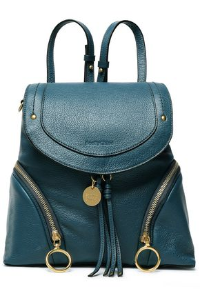 SEE BY CHLOÉ Textured-leather backpack