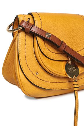 SEE BY CHLOÉ Susie pebbled-leather shoulder bag