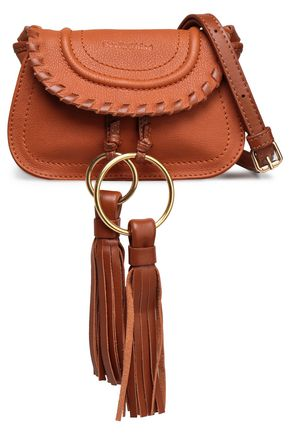 SEE BY CHLOÉ Tasseled leather shoulder bag