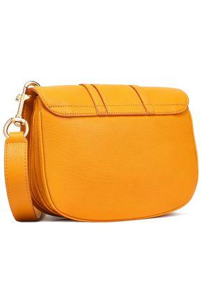 SEE BY CHLOÉ Hana paneled pebbled-leather shoulder bag