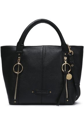 SEE BY CHLOÉ Textured-leather tote