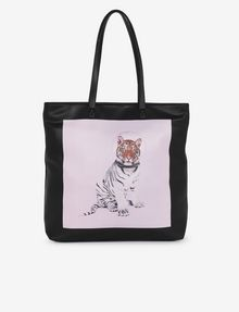 ARMANI EXCHANGE STREET ART BY PAUL FUENTES SQUARE TOTE Tote bag [*** pickupInStoreShipping_info ***] f