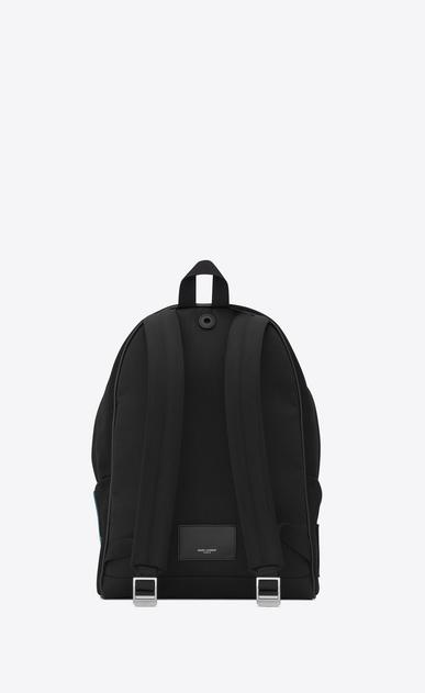 SAINT LAURENT Backpack Herren city rucksack aus schwarzem canvas mit saint laurent-stickerei b_V4