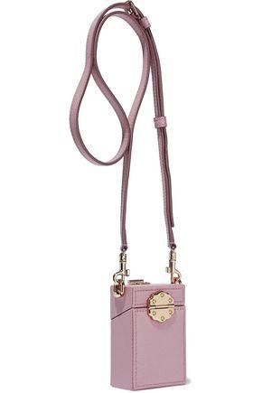 DOLCE & GABBANA Dolce Box Cinderella textured-leather shoulder bag