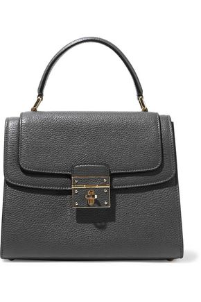 DOLCE & GABBANA Greta textured-leather tote