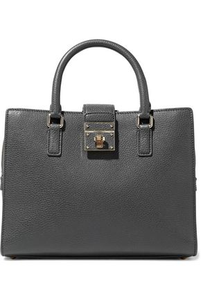 DOLCE & GABBANA Rosalia textured-leather tote