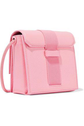 CHRISTOPHER KANE Mini buckled textured-leather shoulder bag