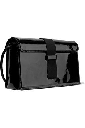 aecfd3afa2 CHRISTOPHER KANE Devine buckled patent-leather shoulder bag