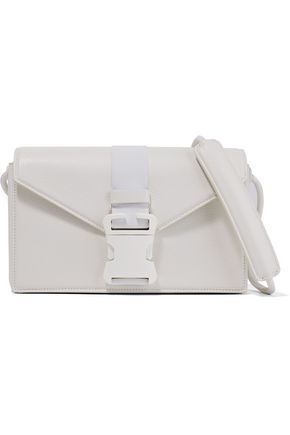 CHRISTOPHER KANE Devine buckled textured-leather shoulder bag