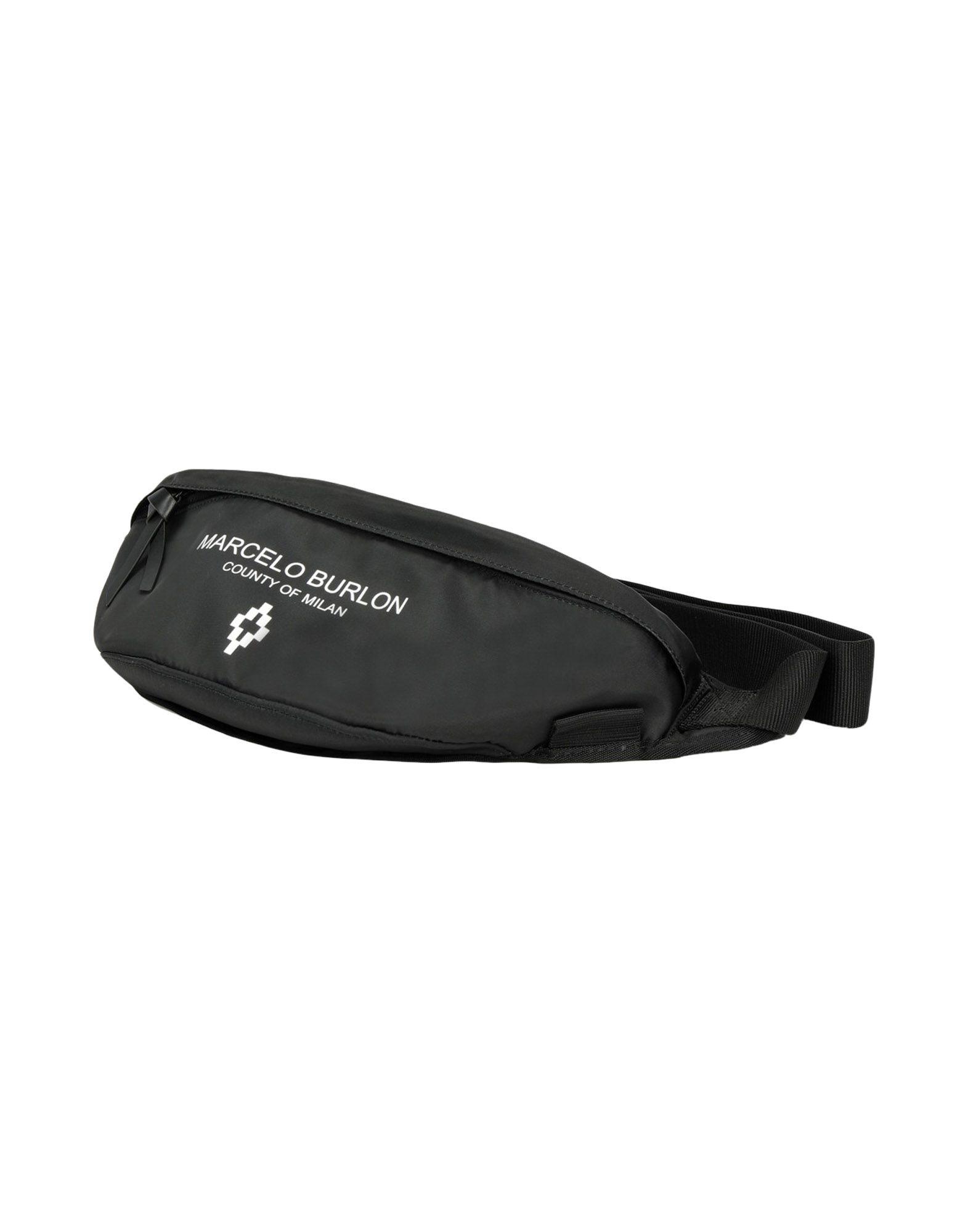 MARCELO BURLON Рюкзаки и сумки на пояс мужские сумки