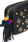 DOLCE & GABBANA Embellished textured-leather shoulder bag