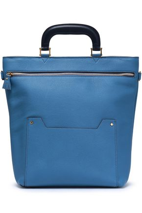 ANYA HINDMARCH Textured-leather tote