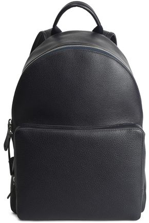 ANYA HINDMARCH Textured-leather backpack
