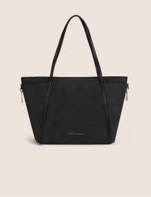 ARMANI EXCHANGE CLASSIC SIDE-ZIP TOTE Tote bag [*** pickupInStoreShipping_info ***] f